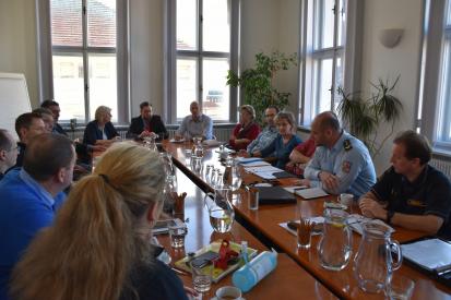 První jednání krizového štábu ORP Příbram dne 13. 3. 2020