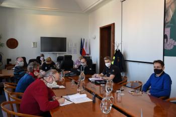 Třetí zasedání krizového štábu ORP Příbram dne 27. 3. 2020